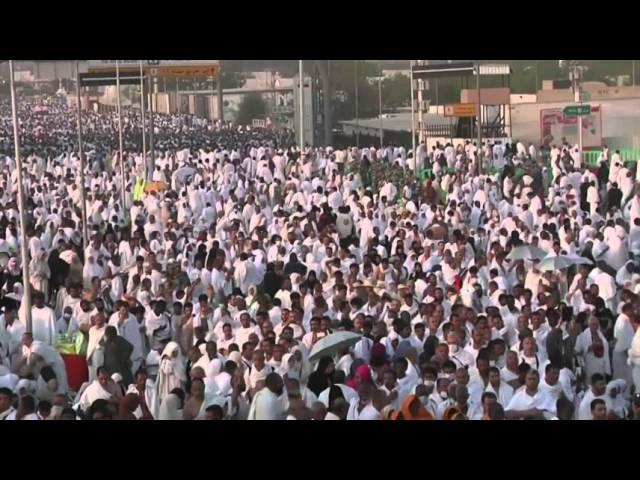 Raw: Muslim Hajj Pilgrims Converge on Mt. Arafat