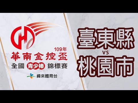 棒球-2020華南金控盃全國青少棒錦標賽-20200620-2 四強戰 《臺東縣VS桃園市》
