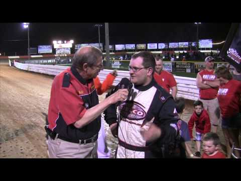 Lincoln Speedway 358 Sprint Car Victory Lane 4-18-15