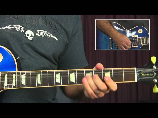 Blues Guitar Lesson - Changing Shuffle Licks To Slow Blues