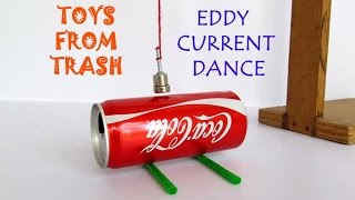Download Eddy Current Dance | English | Move a can without touching it 3Gp Mp4