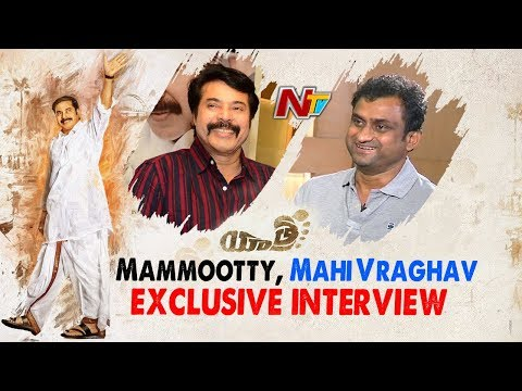 Mammootty And Director Mahi V Raghav Exclusive Interview About Yatra Movie | NTV