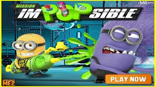 Despicaple Me 2 Movie Game Minions Mission Impopsible Gameplay Best Kid Games