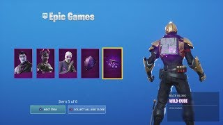 Buying & UNLOCKING NEW 'DARK REFLECTIONS PACK' NEW Fortnite Skins Set!