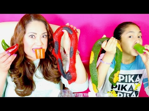 GUMMY CANDY Snakes Chilly Peppers Shot Glases FOOD TASTE!! B2cutecupcakes