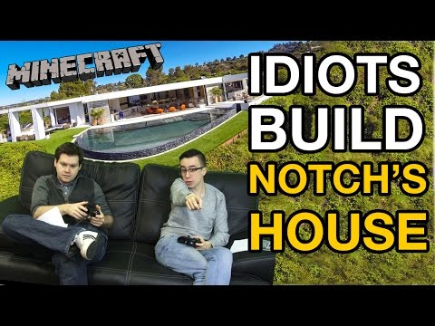 Idiots Minecraft Challenge - Build Notch's House