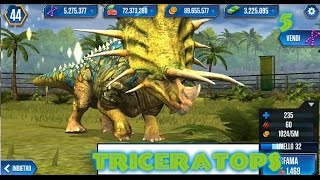 Jurassic World - LEVEL 40 TRICERATOPS