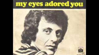 Watch Frankie Valli My Eyes Adored You video
