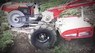 uji coba Traktor Quick Zena Rotary