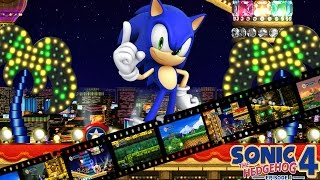 Sonic 4 Episode 1 - Casino Street Zone Act 1-2-3-BOSS