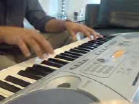 AaJa Sanam Madhur Chandni-- On keyboard by Faraz