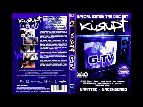 Kurupt - G-TV (Bonus Music CD)