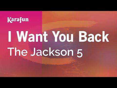 Karaoke I Want You Back - The Jackson 5 *