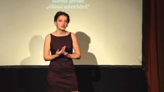 Marina Şerban: Glasul schimbării. Despre ieşirea din zona de confort