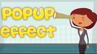 Animaker Popup Effect Tutorial