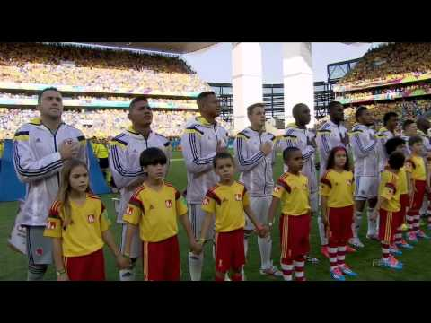 2014 World Cup National Anthems - Japan vs Colombia