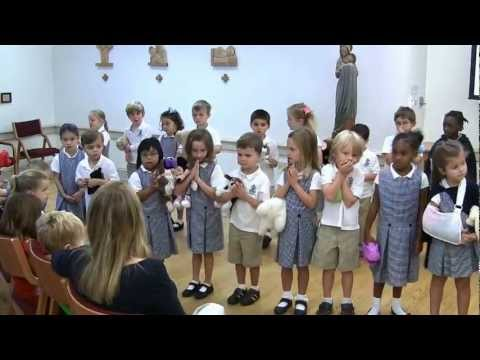 Rosemont School Children Bless Animals