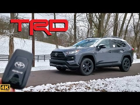 2020 Toyota RAV4 TRD Off-Road // RUGGED Enough to be WORTH $42K??