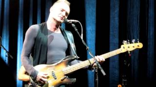 Sting - English Man In New-York - Halle Tony Garnier