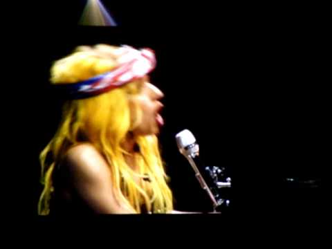 Lady Gaga Born This Way Live