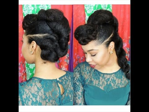 """#46. Natural Hair Protective Hairstyle """"Twist"""