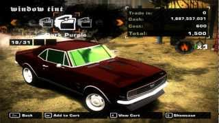 Need for Speed Most Wanted 2005 - Chevrolet Camaro SS Mod