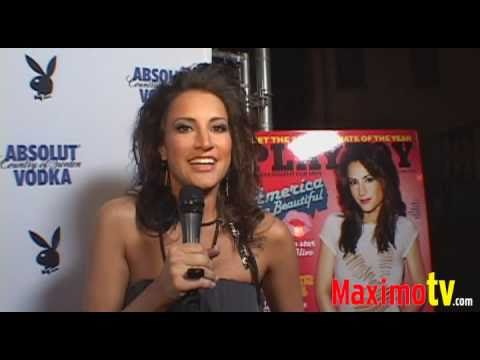 AMERICA OLIVO Playboy June 2009 Cover Issue Release Party June 5, 2009 Video