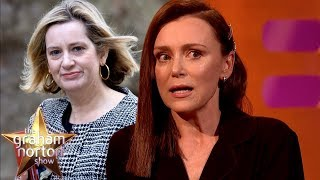 Keeley Hawes Awkward Meeting With Amber Rudd | The Graham Norton Show