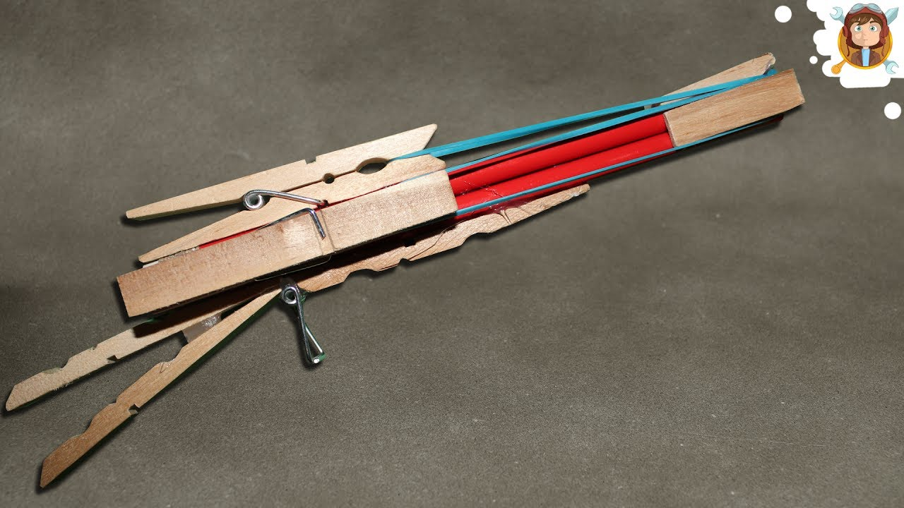 How to Make a Rubber Band Gun