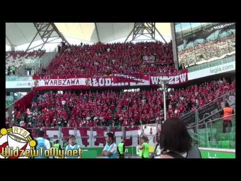 Legia Warszawa - Widzew Łódź 5-1 20.07.2013