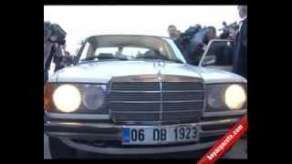 Devlet Bahçeli, Meclis'e plakası 06 DB 1923 olan 1982 model Mercedes ile geldi