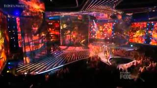Emblem 3 - My Girl and California Gurls Mashup - The X Factor USA 2012 (Live Show 2)
