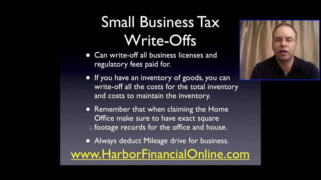 write off business expenses