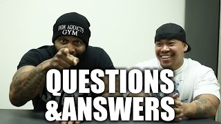 CT Fletcher - Q&A! Man Boobs / Calisthenics / Bench Press Development