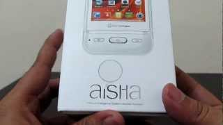 Micromax A50 Aisha Phone Unboxing Box Contents