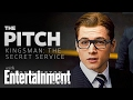Frame from Taron Egerton pitches 'Kingsman' to 'Fifty Shades of Grey' fans