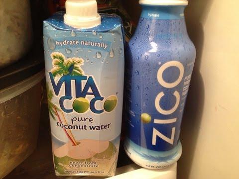 Top 50 Healthiest Foods - Coconut Water & Taste Test