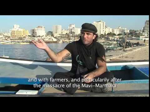 Vittorio Arrigoni ISM journalist and human rights activist killed in Gaza on April 14  2011