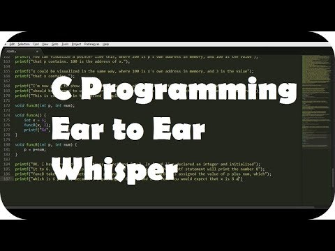 {BINAURAL ASMR} Ear to Ear Whisper About C Programming for Relaxation (Layered Typing Sounds)