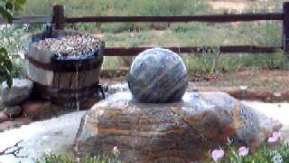 rolling sphere fountains statues 02
