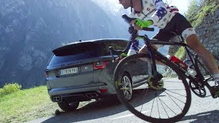 Cyclist Vs Race Car Driver – Motor Trend Presents: DRIVEN France