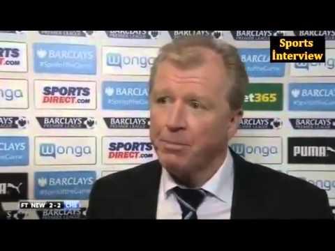 Newcastle 2-2 Chelsea - Steve McClaren - Post Match İnterview