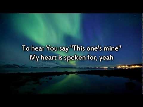 MercyMe - Spoken For - Instrumental with lyrics