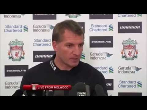 Brendan Rodgers Pre Aston Villa Press Conference