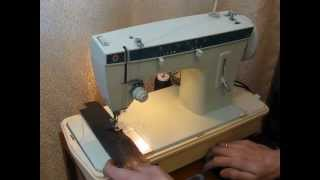 Sewing machine Швейная машина Singer 257 кожа sew leather