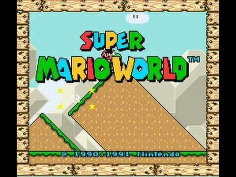 Super Mario World - Super Mario World-Fastest route to Bowser - User video