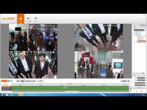 Videoüberwachung Lupus Smartvision Hauptfunktionen