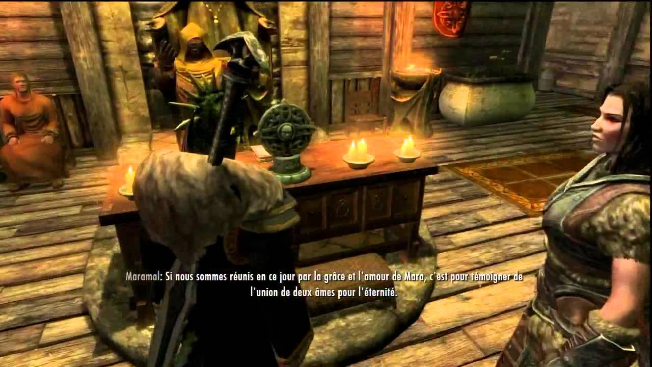 Skyrim - Mariage avec Lydia - Trophé Platine - YouTube