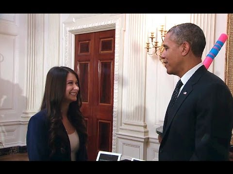 President Obama Tours the 2014 White House Science Fair