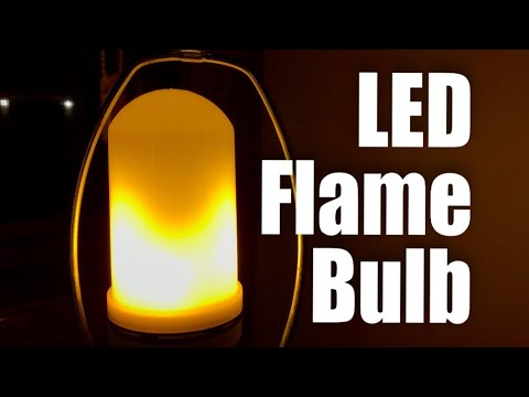 Yeahbeer LED Flame Effect Light Bulb Review